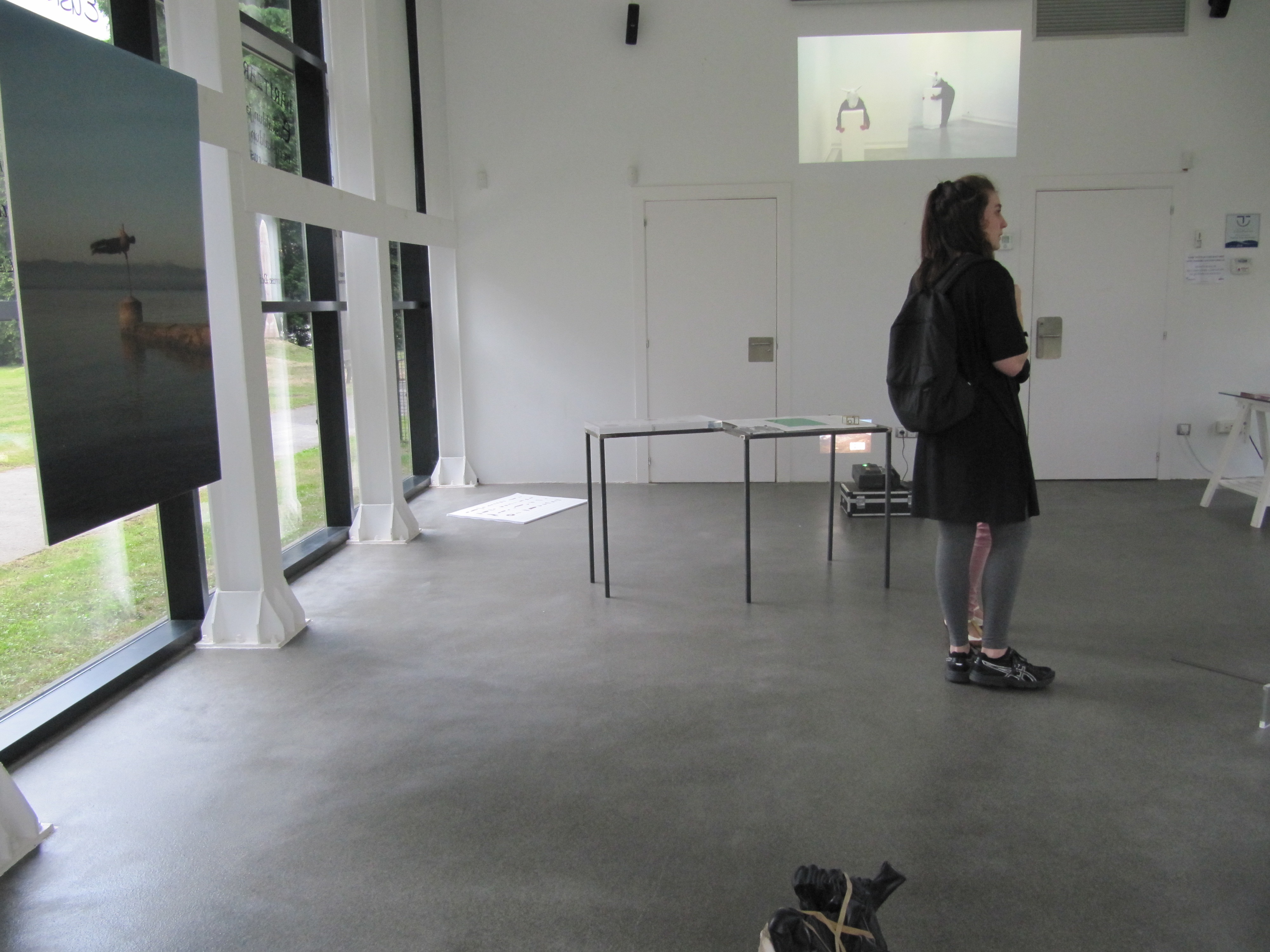 photo of the exhibition When art is a form of behaviour...