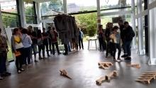 Foto de la inauguración de HALO en Arenatzarte, Güeñes