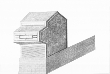 Centroa proiektuaren marrazkia. Egilea, Julen Agirre