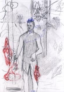dibujo de cuerpo, de Estanis Comella