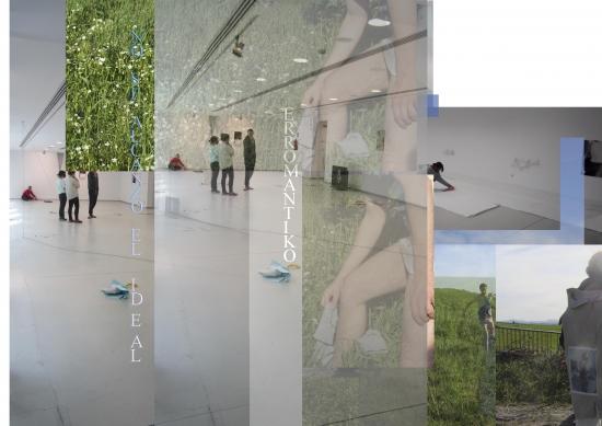 imagen de Mar Torre para la exposición Erromantiko del programa HARRIAK