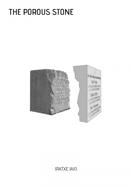 the porous stone