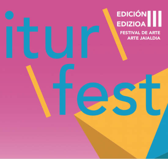 cartel del micro festival artístico Iturfest III