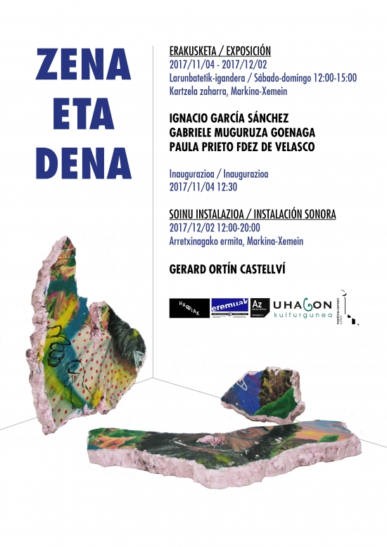 Poster for the 'Zena eta dena' exhibition