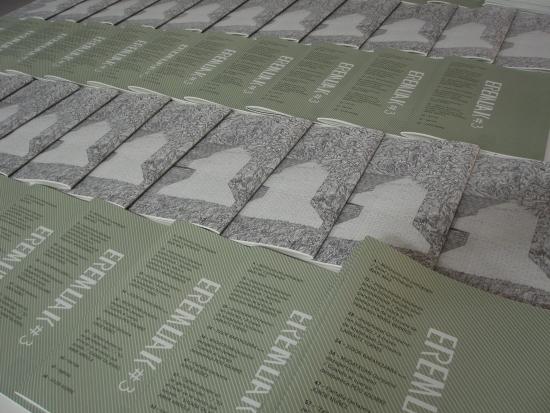 eremuak#3 aldizkaria, 2016an argitaratuta