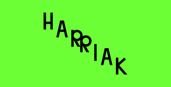picture of the HARRIAK programme. Design: Gorka Eizagirre